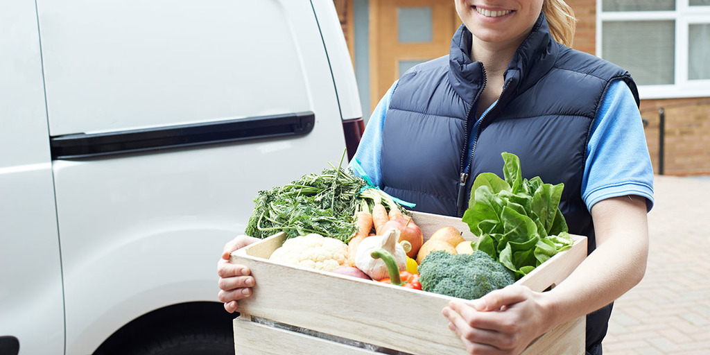 Selling, Delivering Produce
