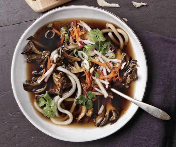 Maitake Noodle Bowls