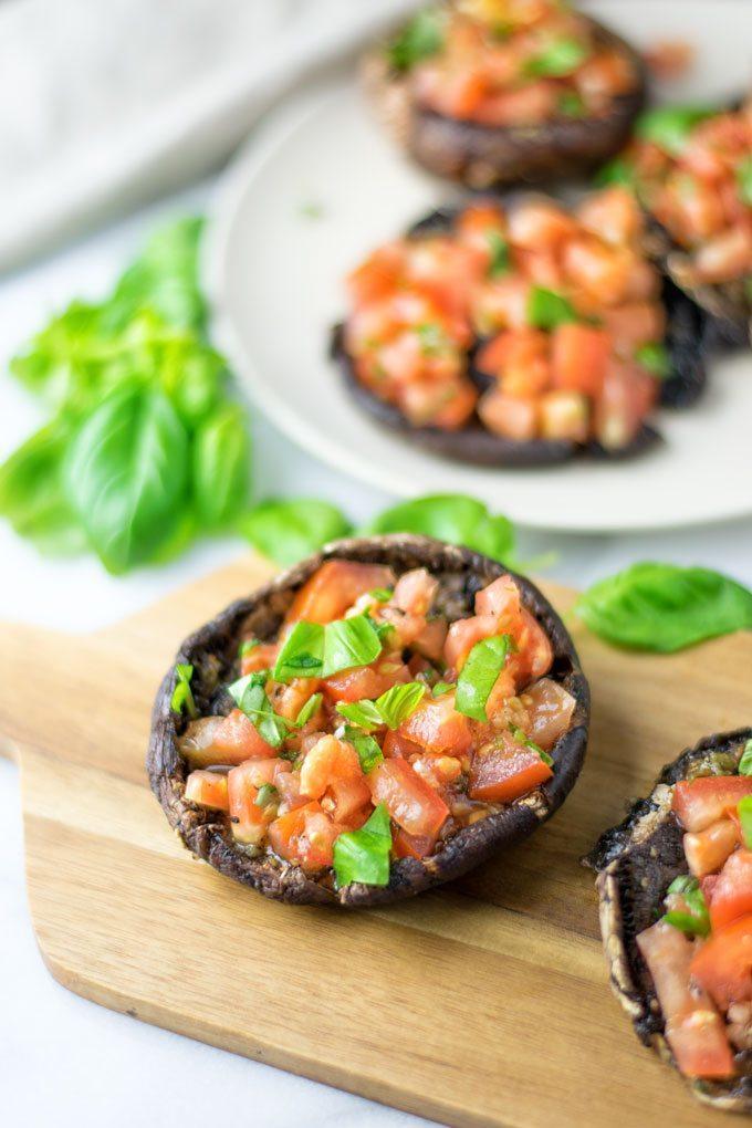 Portobello Mushroom Bruschetta